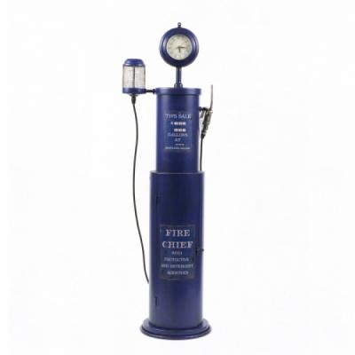 럭키 플로어 FIRE CHIEF 시계촛대 수납장 (블루)