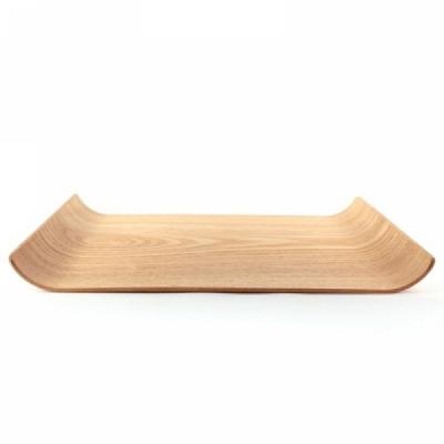 윌로우 U테이블 원목쟁반 40cm