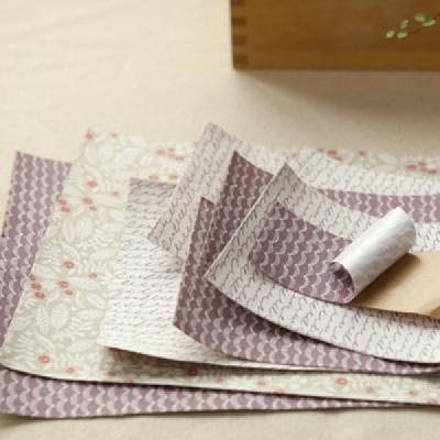 Linen Fabric Sticker - Dear 3종택1