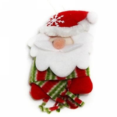 크리스마스 부직포트리장식(목도리 산타)