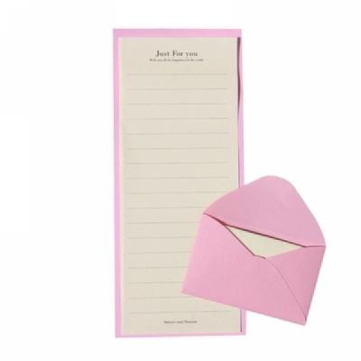 C편지지 핑크 (미니편지)