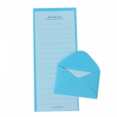 C편지지 블루 (미니편지)