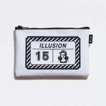 Vintage Illusion Pouch