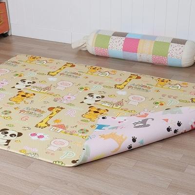 아기노리 놀이방매트 동물농장 퍼피핑크 (양면) (대형)