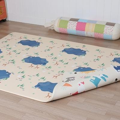 아기노리 놀이방매트 옹달샘 퍼피아이보리 (양면) (중형)