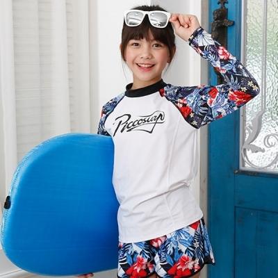 피코 수영복 상의 플로라K1132 (주니어용 래쉬가드) (택1)