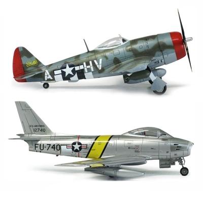 아카데미 1대72 P-47D 앤 F-86E 가브레스키 (12530)