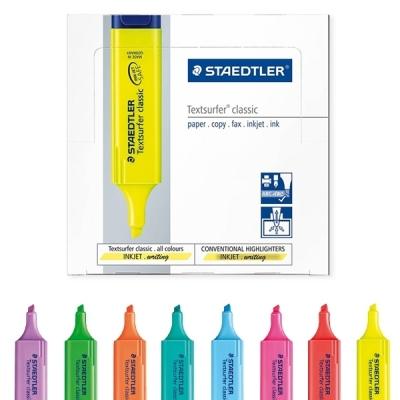 스테들러 364 텍스트서퍼 클래식 형광펜 1다스 (10개입) (택1)