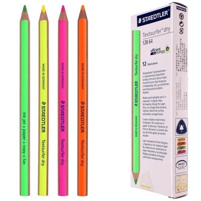 스테들러 128 64 형광 색연필 1다스 (12개입) (택1)