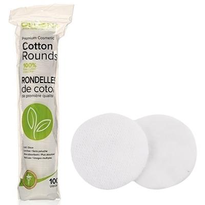 DELON Cotton Rounds Pad 딜론 다용도 화장솜 100매