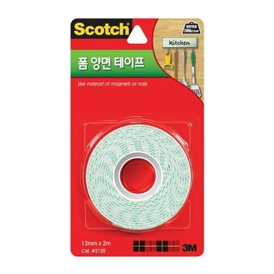 스카치 폼 양면 테이프(12mmx2m)
