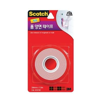 스카치 강력 투명 폼 양면 테이프(24mmx1.5m)
