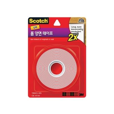 스카치 강력 폼 양면 테이프(12mmx4m)