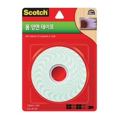 스카치 폼 양면 테이프(12mmx4m)