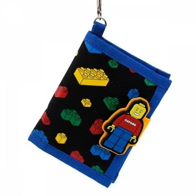 윙하우스 옥스포드 블록 패턴 지갑