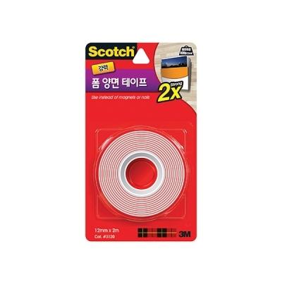 스카치 강력 폼 양면 테이프(12mmx2m)