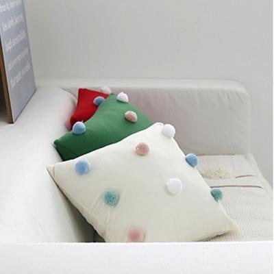 팜팜방울 쿠션커버(3color)