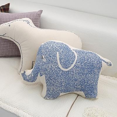 코끼리 쿠션(솜포함)