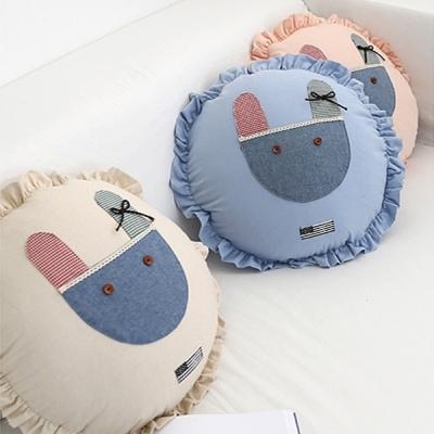 토끼 원쿠션(솜포함)3color
