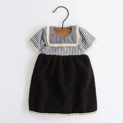 댄디세일러 원피스 주방타월(2color) 우드옷걸이 포함