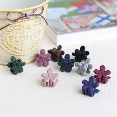 미니꽃 집게핀 (9color)