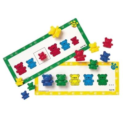러닝리소스 곰세마리 패턴카드 (LER0753)