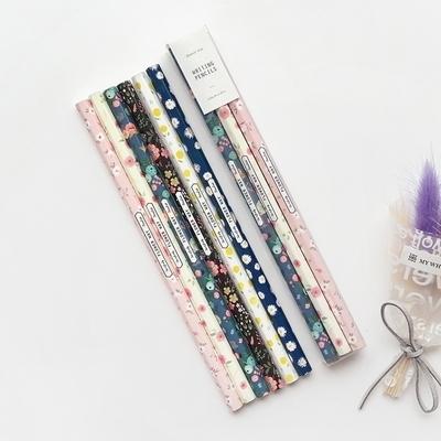 2000 꽃길 연필 6본세트