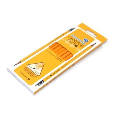 모닝글로리 캠퍼스 삼각그립 연필 (B) 10자루