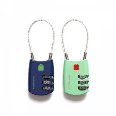 모닝글로리 3다이얼 케이블 자물쇠 (랜덤1개)