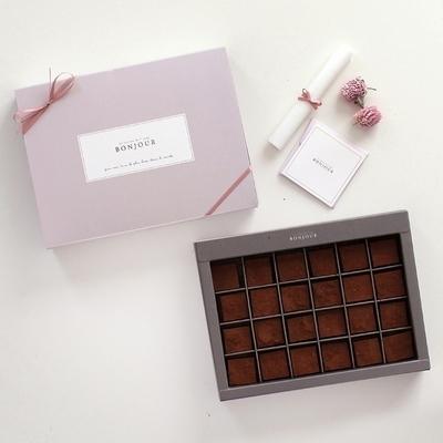 디비디 파베 초콜릿 박스 - Bonjour 24구