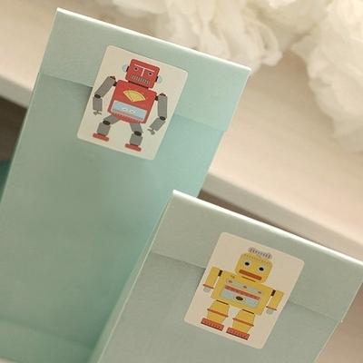디비디 데코 스티커 - Robot I