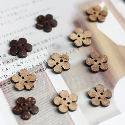 빈티지 꽃 단추 (10p set)