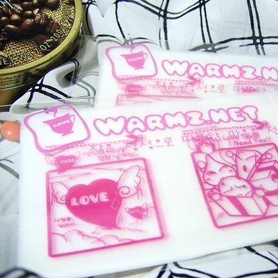 디자인약포지 사랑 (분홍)