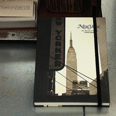 만년 뉴욕 포토 빈티지 다이어리 - 2TYPE
