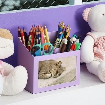 PHOTO PAPER PENCIL BOX ver.01 - 4COLOR