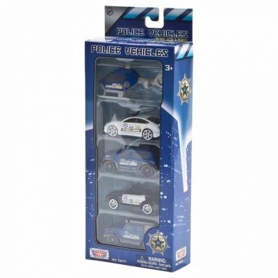 모터맥스 3in 경찰시리즈 5P세트 (76079)