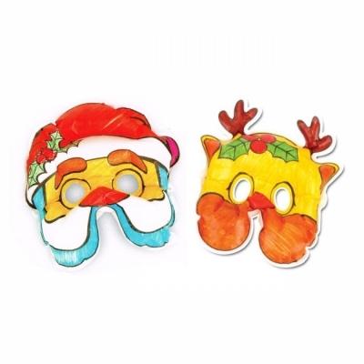 컬러룬 크리스마스 마스크 2종 (10인)