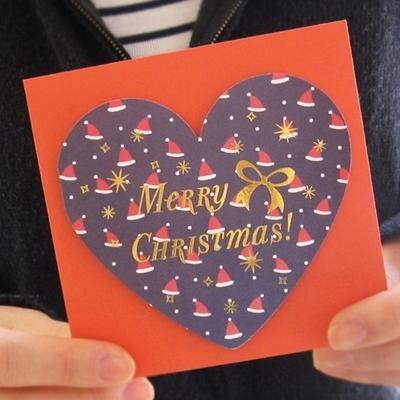 모자_Heart Christmas