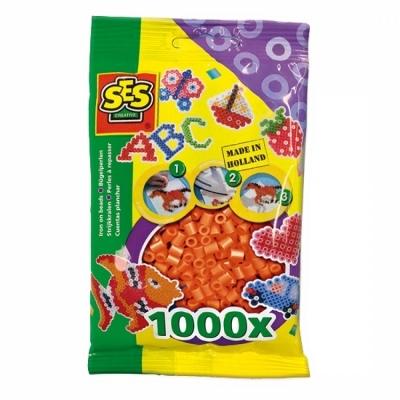 SES 비즈 1000pcs (오렌지) (00707)