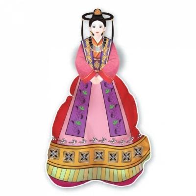 컬러룬 삼국시대 전통의상 고구려 (10인)