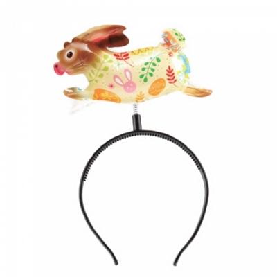 컬러룬 헤어밴드 풍선 토끼