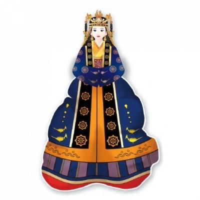 컬러룬 삼국시대 전통의상 백제 (10인)