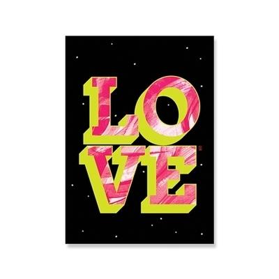 love space 엽서