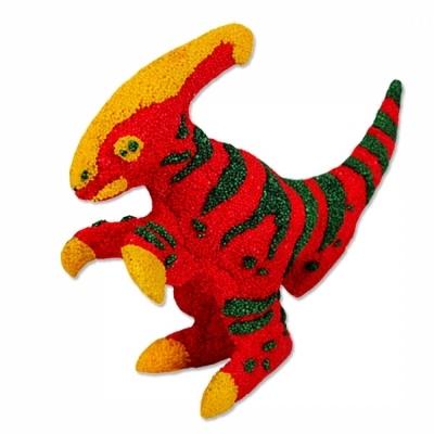 컬러룬 볼클레이 미니공룡 (파라사우롤로푸스)
