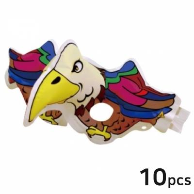 컬러룬 마스크 독수리 (10개입)