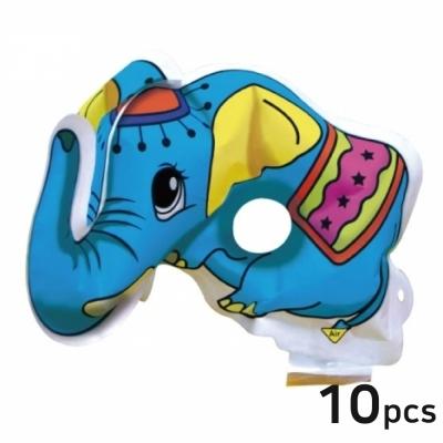 컬러룬 마스크 코끼리 (10개입)