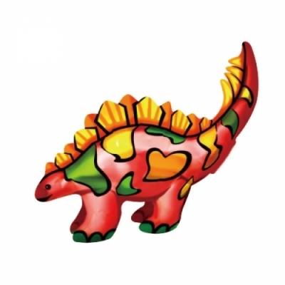 컬러룬 공룡 만들기 (스테고사우르스)