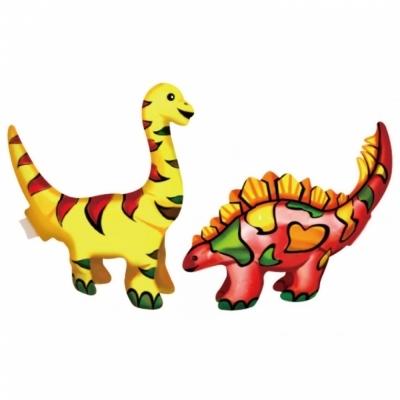 컬러룬 공룡 만들기 2종 (세이스. 스테코) (10개입)