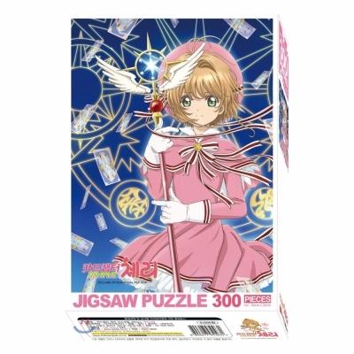 학산문화사 카드캡터 체리 직소퍼즐 300pcs (매직서클)