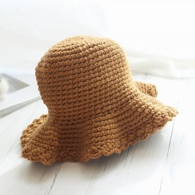 니트 프릴벙거지 모자 (5color)